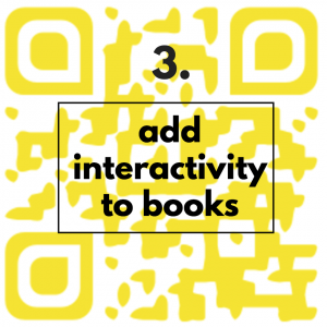 add interactivity to books