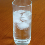 cloudy ice cubes