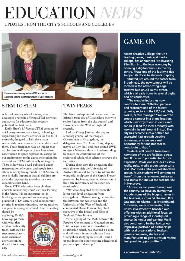 Bristol Magazine book review