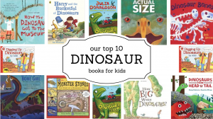 Our top 10 dinosaur books