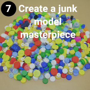 Create a junk modelling masterpiece