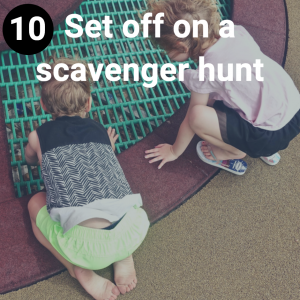 Set off on a scavenger hunt